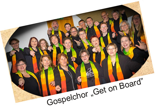 "Der Gospelchor ""Get on board"""